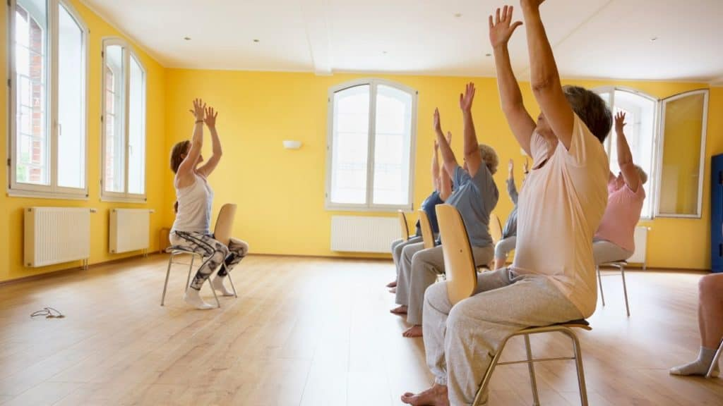 Chair Yoga Self-Care and Nurture