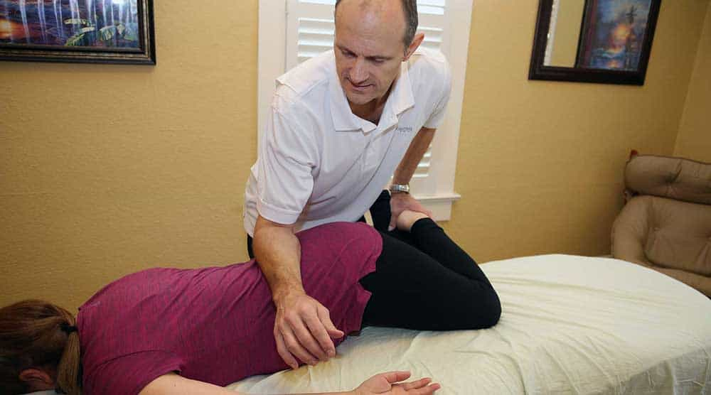 Back pain relief massage therapy Canby Oregon